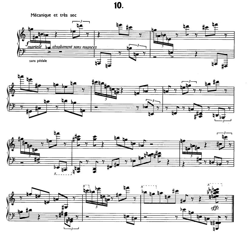 hauptwerk pierre boulez douze notations pour piano